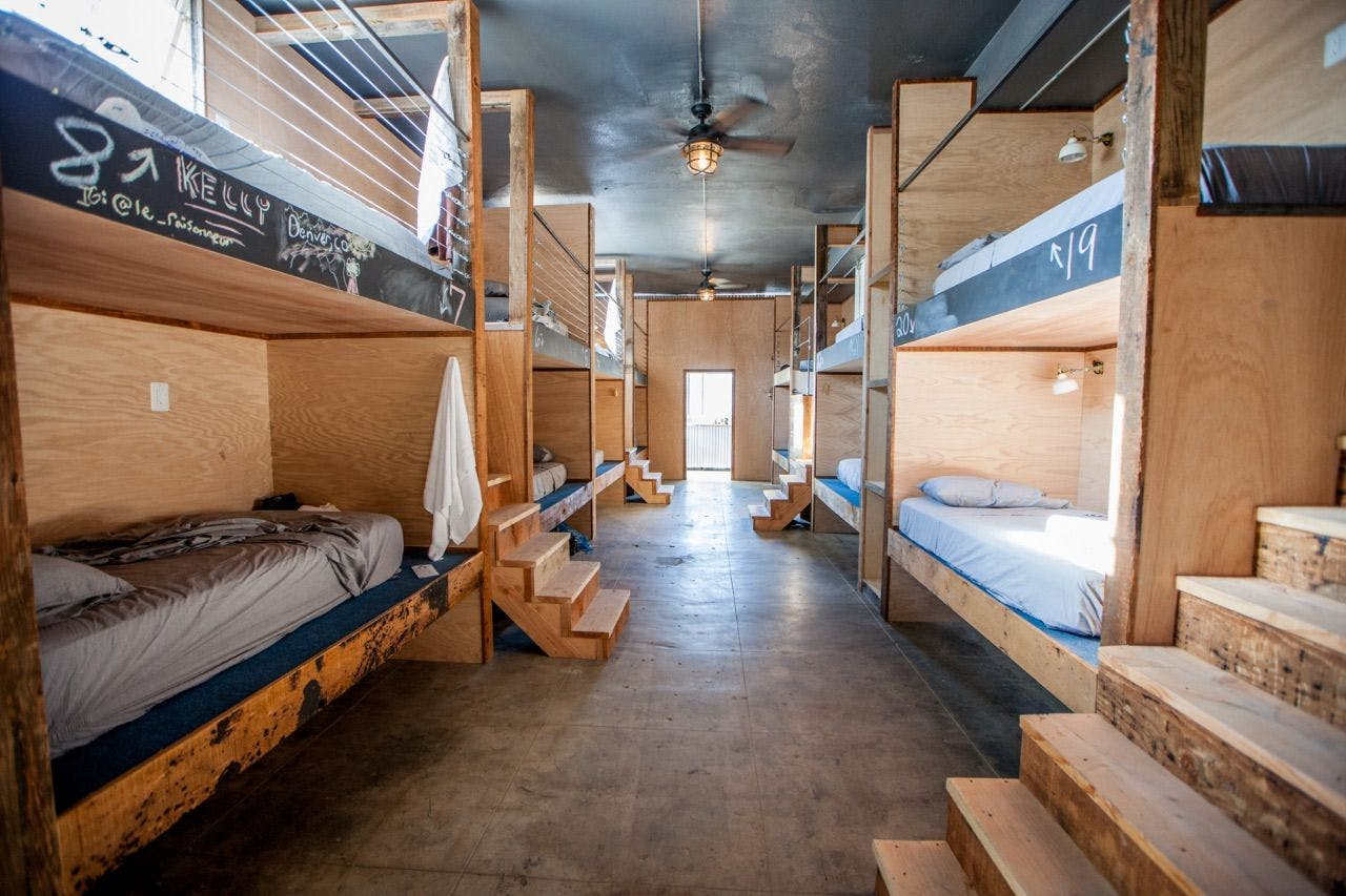 32 Residents | East St. -  Downtown LA Arts District | Individual Pods