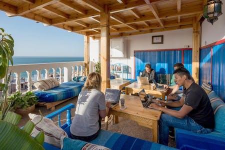 Traditional Turkish Beach Villa w/ Workspace + Terrace Overlooking The Sea