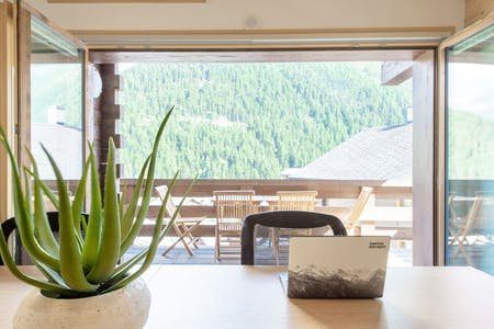 Charming Chalet w/ Stunning Alps View - Incl. Coworking + Outdoor Areas