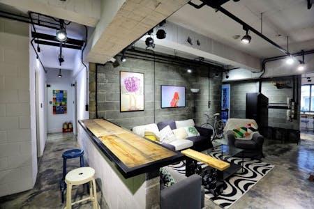Austere & Minimalist Styled Apt. w/ Workspace