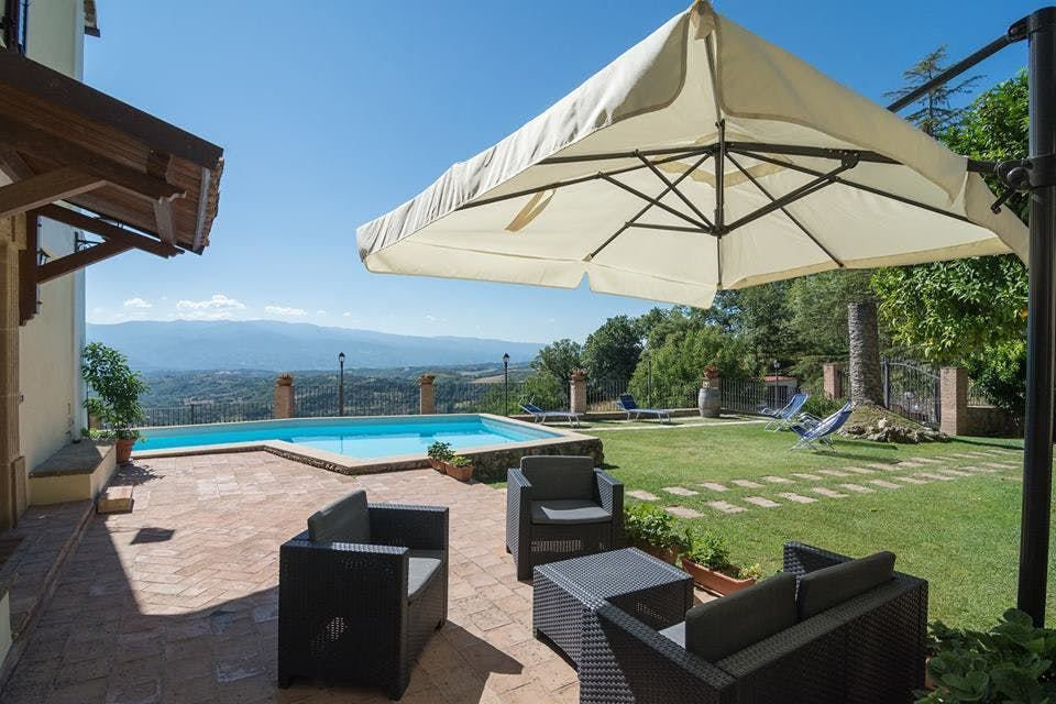 8 Residents | Calabria | Stunning Stylish Villa w/ Coworking + Outdoor Areas