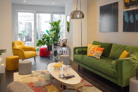 9 Residents | Parvis de Saint Gilles | Comfortable Bright House - Incl. Workspace + Terrace