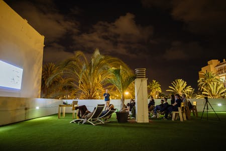 11 Residents   Ciudad Jardín - Heart of Las Palmas   Amazing Trendy House w/ Coworking + Rooftop Deck