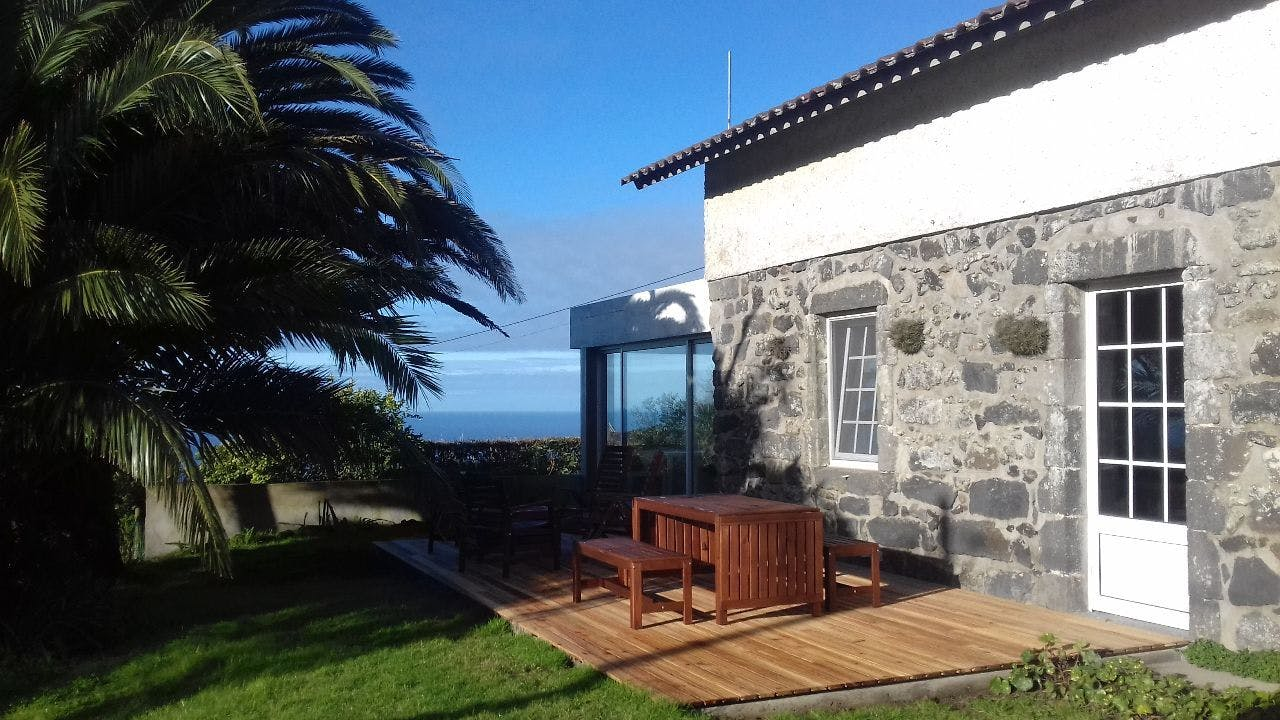 Near The Beach | Rustic Styled Villa - Incl. Coworking Overlooking The Sea