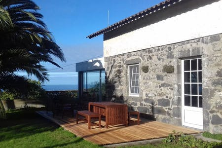 9 Residents | Ginetes - Near The Beach | Rustic Styled Villa - Incl. Coworking Overlooking The Sea