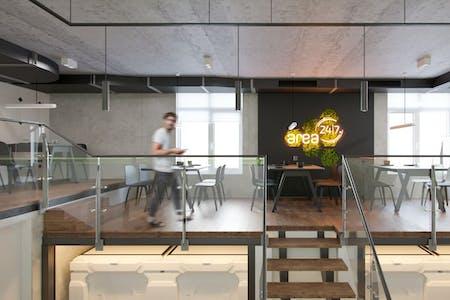 Unique Modern Inidividual Capsule - Incl. Coworking + Cafeteria