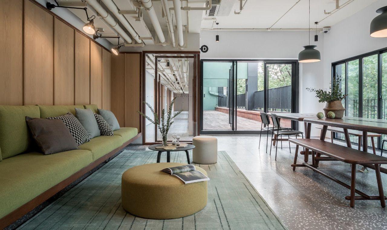 11 Residents | Xuhui | Exclusive Cozy Designed Studio  - Incl. Coworking + Bar + Terrace