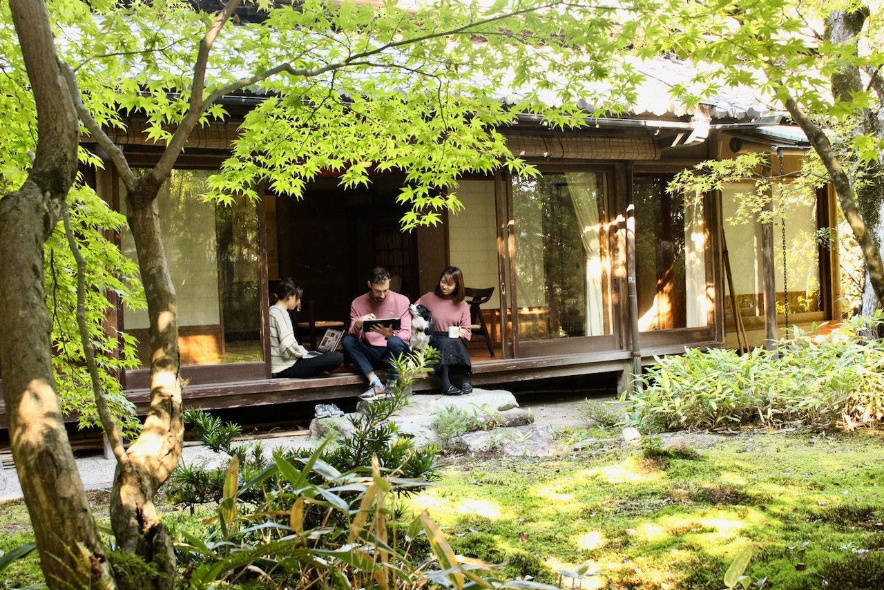 6 Residents   Kamikatsura   Traditional Kyoto House - Incl. Coworking + Moss Gardens