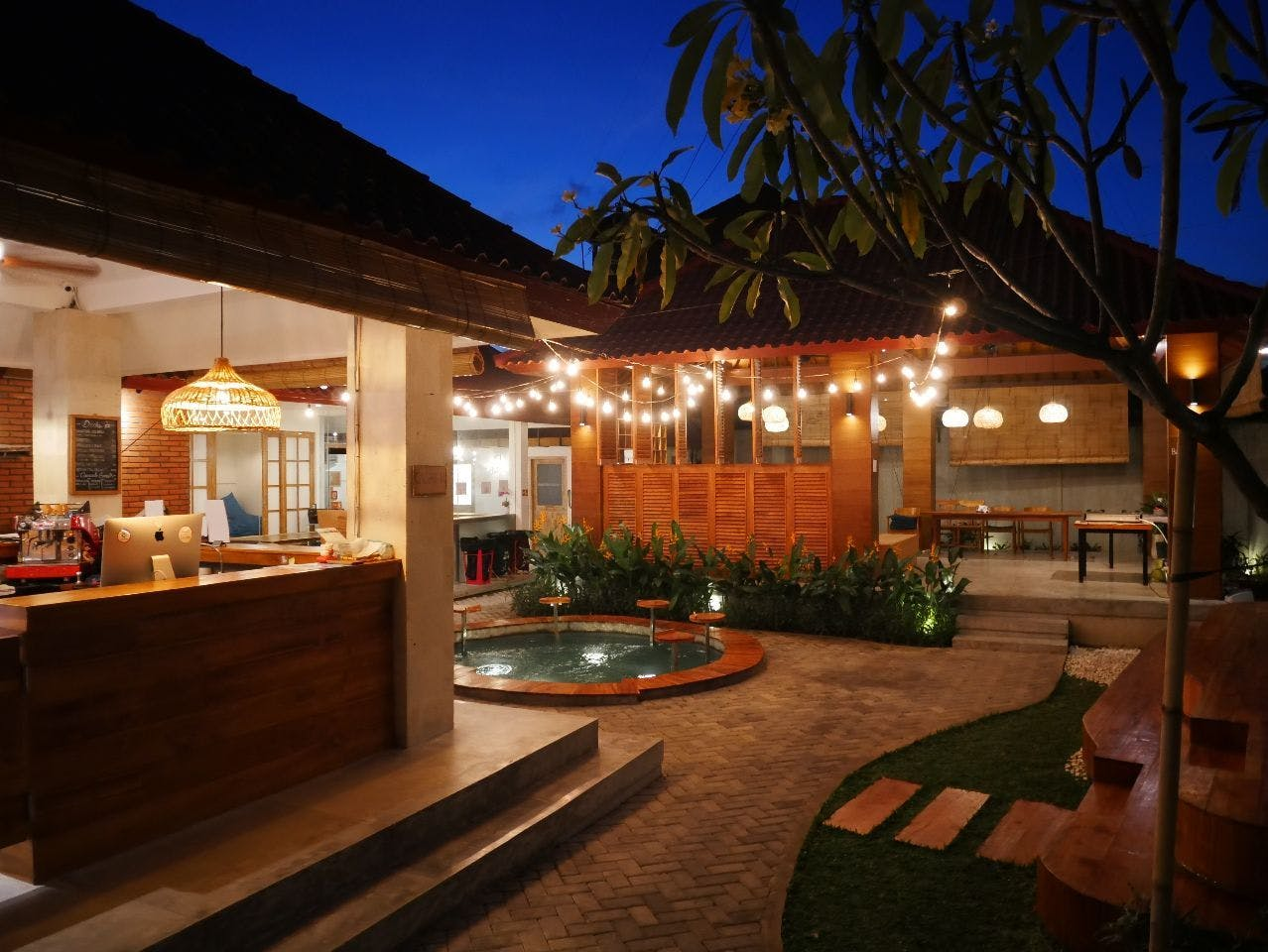 Natural Tropical House  w/ Coworking + Outdoor Areas