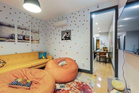 12 Residents | Dekalb Ave. - Bed-Stuy | Modern Urban House - Incl. Coworking