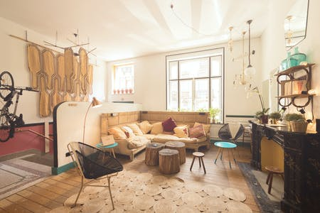 13 Residents | Saint-Gilles | Generous Trendy House - Incl. Coworking + Gym
