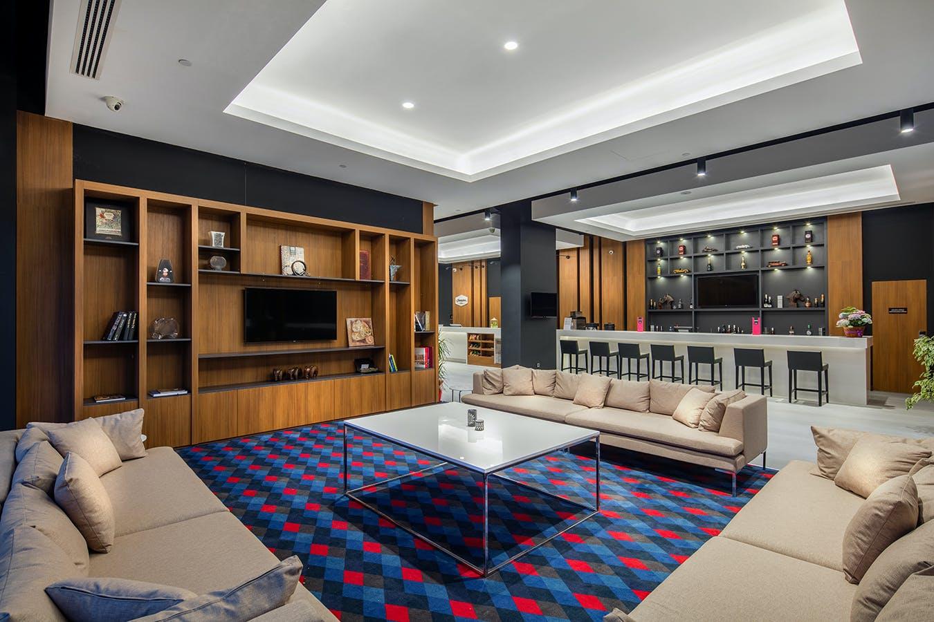 242 Residents | Aliaga - Next to Yenifoca Beach | Luxury Modern Complex - Incl. Coworking + Gym