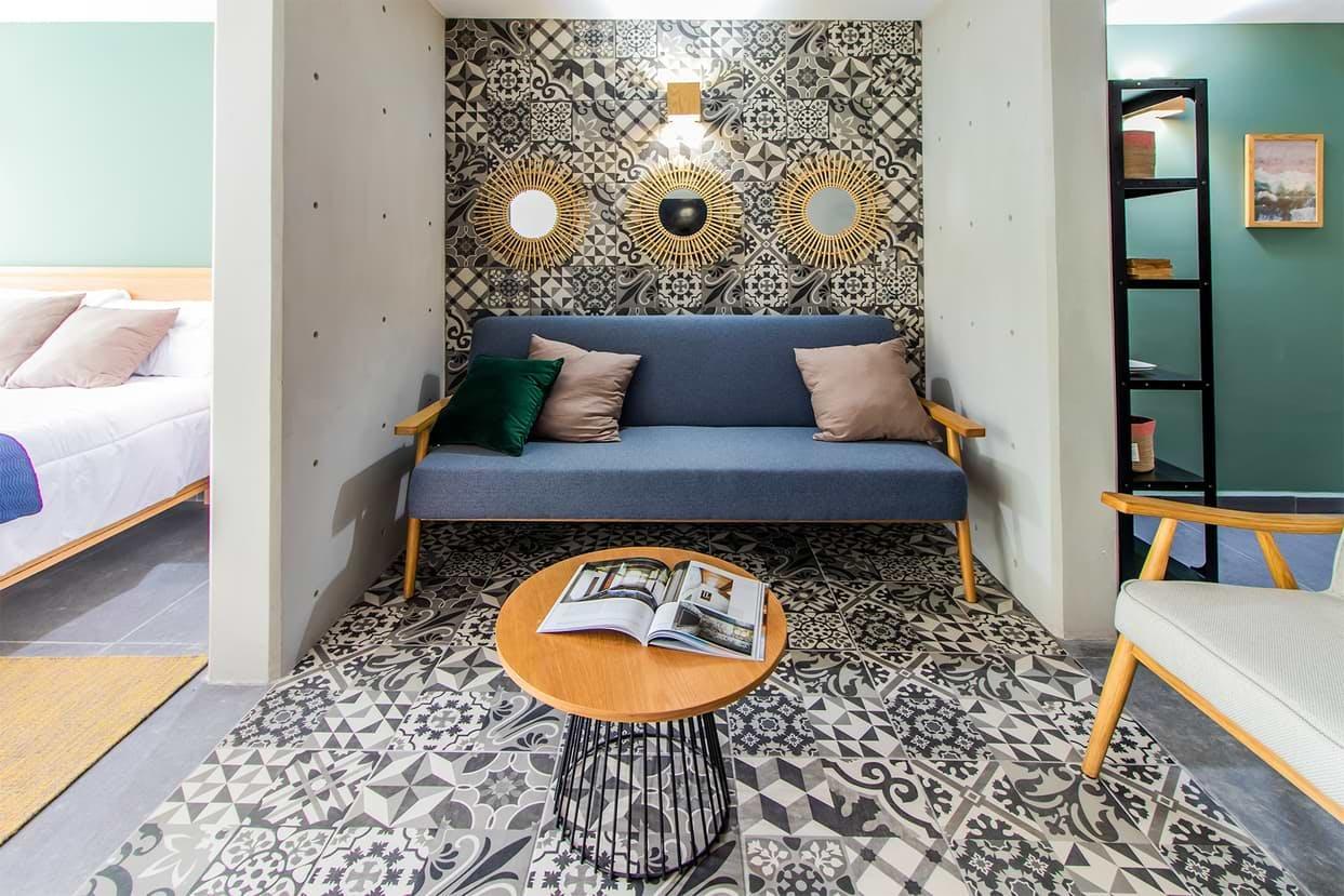 40 Residents   Narvarte Poniente   Luxury Loft Apt. - Incl. Coworking + Gym + Playroom