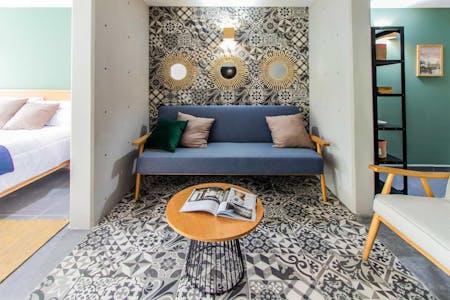 40 Residents | Narvarte Poniente | Luxury Loft Apt. - Incl. Coworking + Gym + Playroom