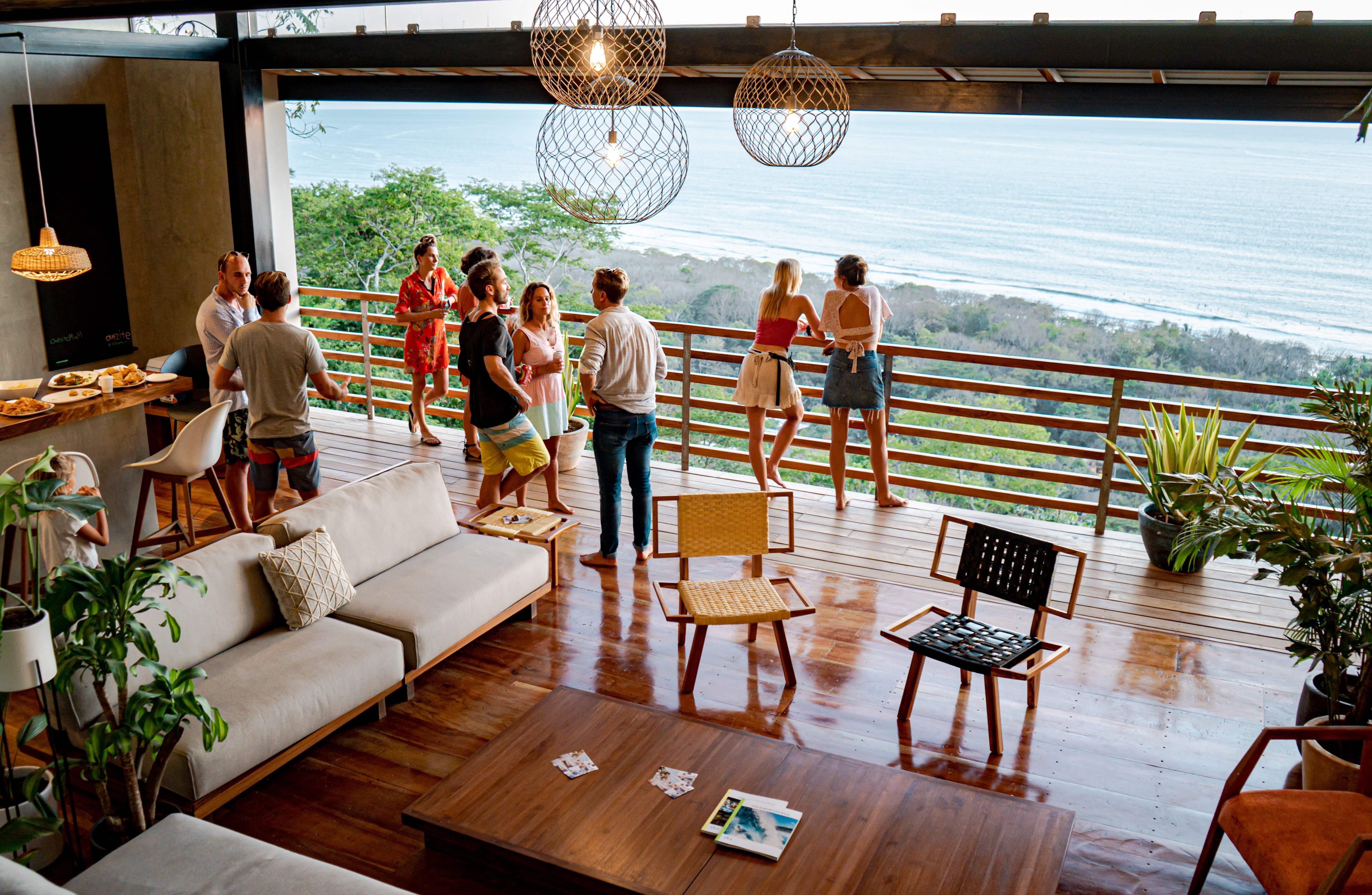 Stunning Tropical Villa w/ Oceanviews + Coworking + Pool