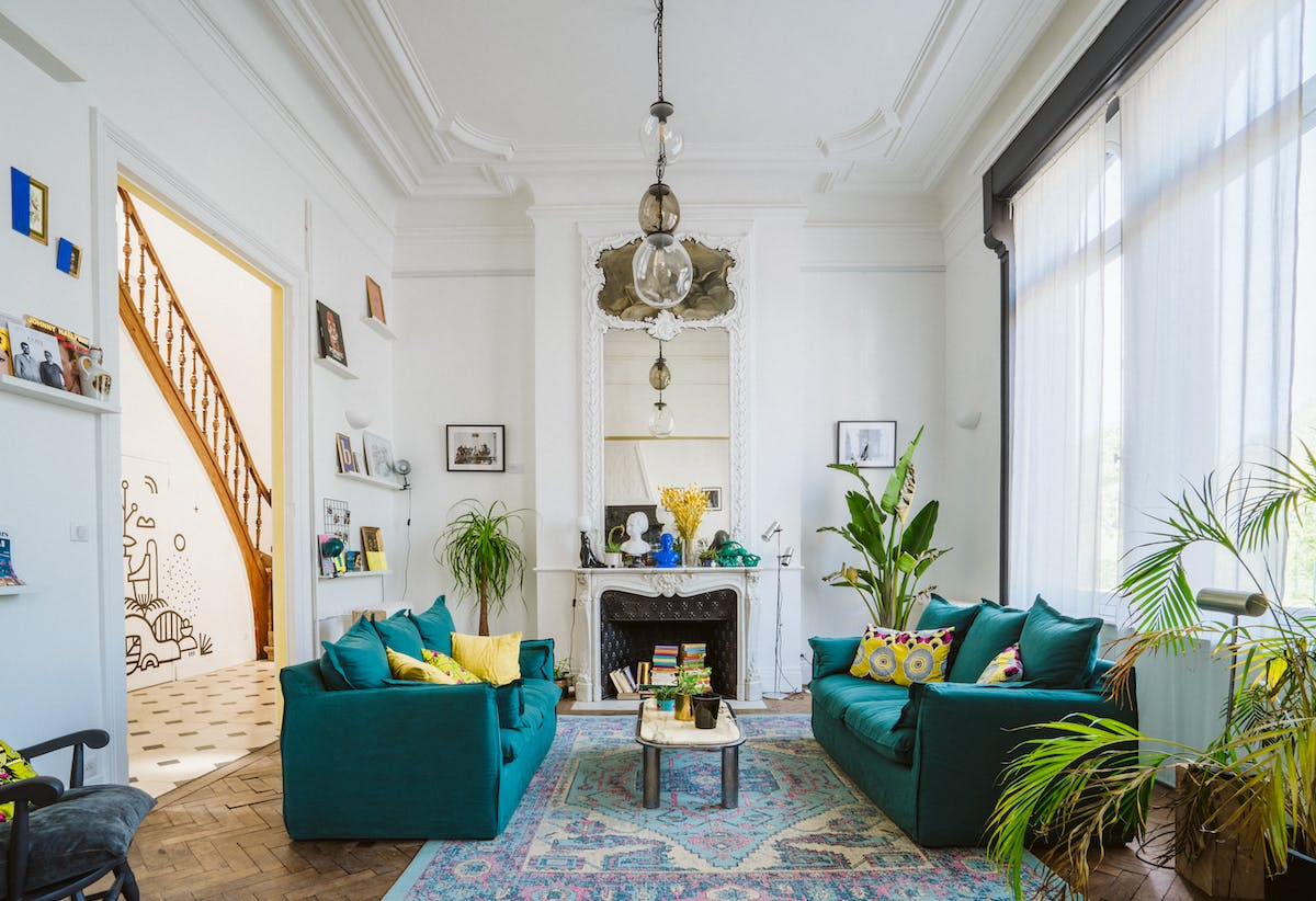 12 Residents   Rue Solférino - City Center   Colorful Stylish House w/ Rooftop Deck + Worskpace
