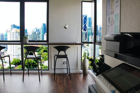 174 Residents | Lorong Damai - Ampang Hilir | Upscale Style Apt. - Incl. Coworking + Rooftop w/ City View