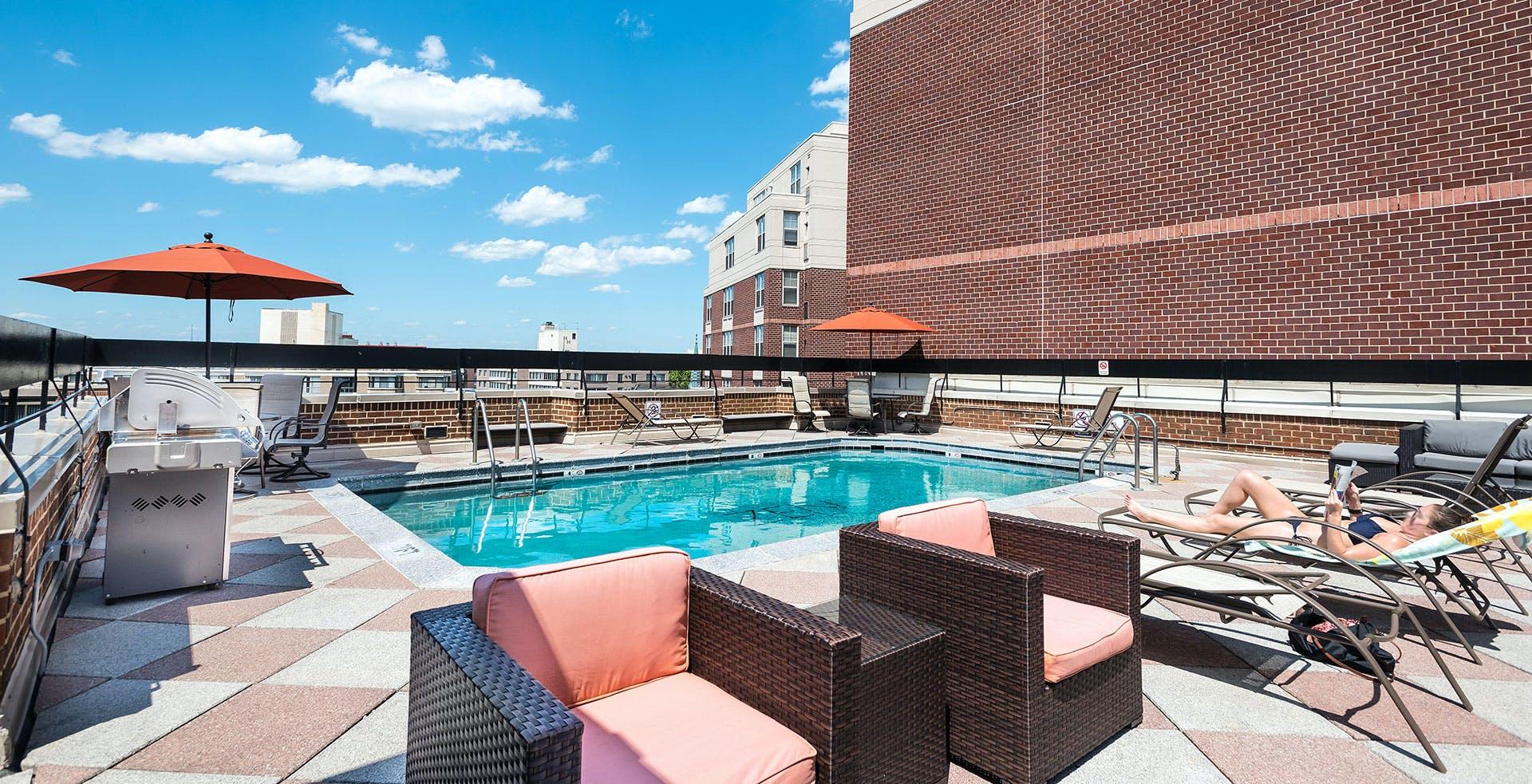 49 Residents | Massachusetts Ave. - Northwest Washington | Exclusive Modern Apt. - Incl. Gym + Rooftop Pool