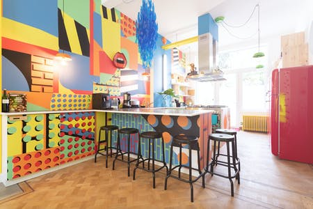 13 Residents | Schaerbeek | Colorful and Cozy Residence - Incl. Gym