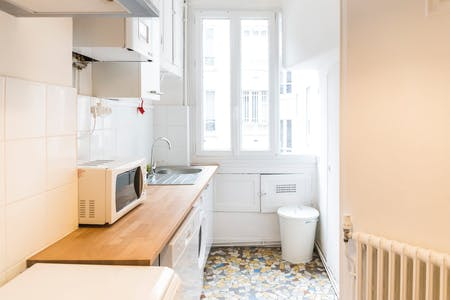 4 Residents | Monceau - Ternes | Bright Apt. with Green Patio