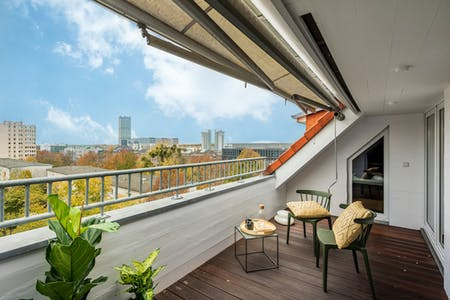 Spacious Apt. with Large Terrace