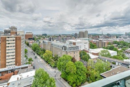 4 Residents | Quartier Latino | Luxury Apt. w/ City View + Gym + Pool