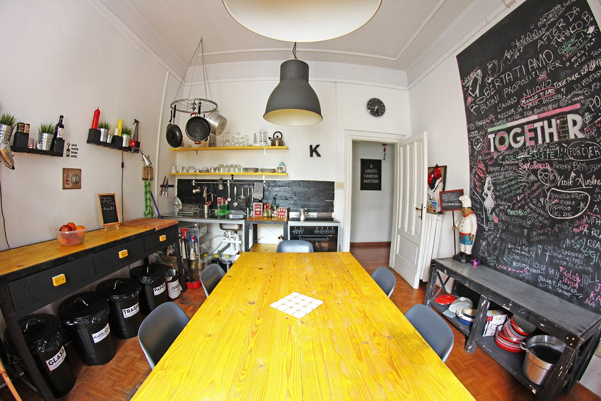 8 Residents  Trastevere   Traditional Styled Apt. w/ Coworking