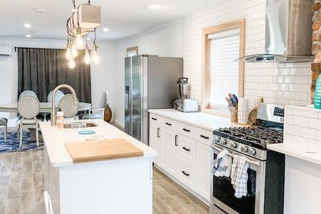 Stylish Vibrant House w/ Backyard Deck + BBQ