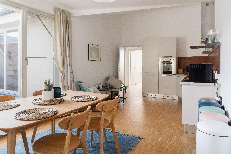 4 Residents   Prenzlauer Berg   Top Floor Modern Apt. w/ Terrace
