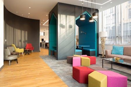 Stylish Residence w/ Coworking + Sauna + Game Room