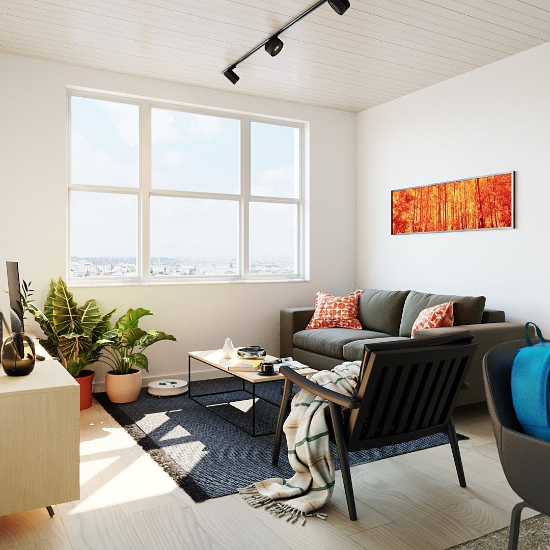 579 Residents | Union Station North | Upscale Urban Complex w/ Coworking Lab + Rooftop Gym