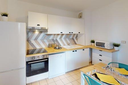3 Residents | Matabiau | Lovely & Modern Apt.- Incl. Common Terrace + Workspace
