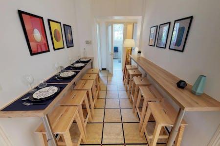10 Residents | Montchat | Lovely & Modern House - Incl. Backyard Garden