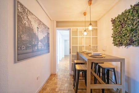 6 Residents | Vallehermoso - Chamberí | Newly Renovated Excellent Apt. w/ Workspace