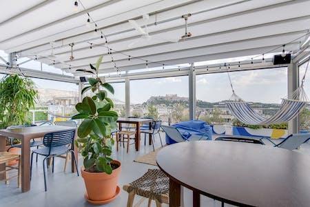 47 Residents | Psyri | Stylish Designed Complex w/ Rooftop Bar + Coworking