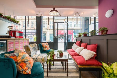 59 Residents | Northern Quarter | Refurbished Victorian Building w/ Coworking + Bar