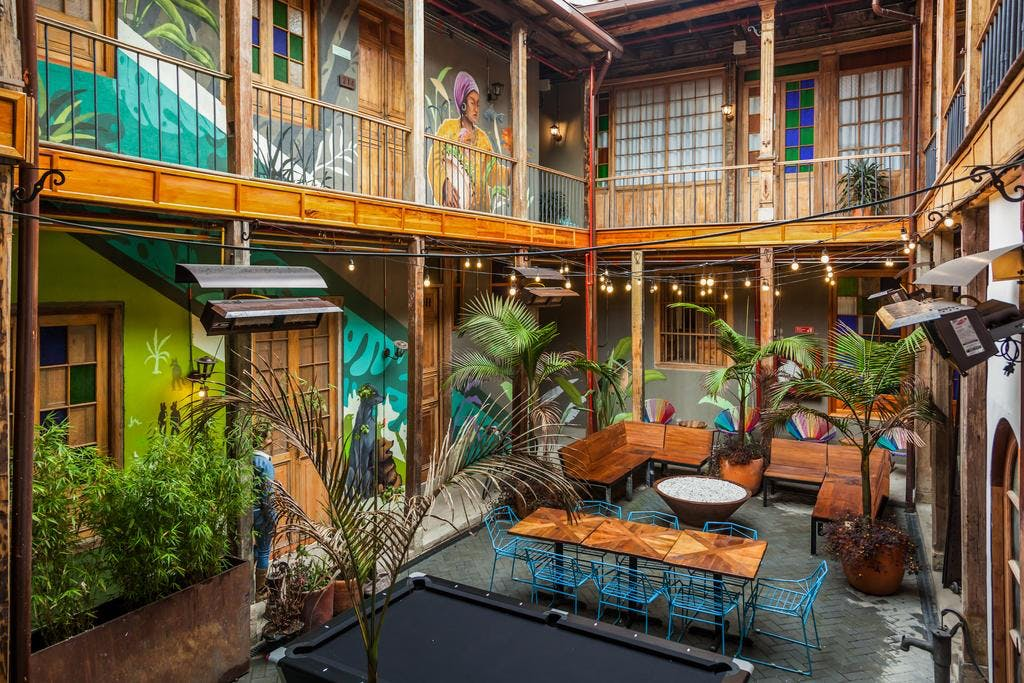 51 Residents | La Candelaria | Colorful Neo-colonial Complex w/ Coffee Bar + Yoga