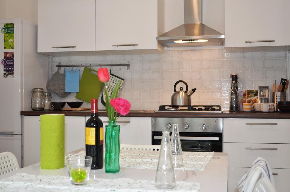 7 Residents | Porta Nuova | Minimalist Styled Apt. w/ Workspace + Terrace