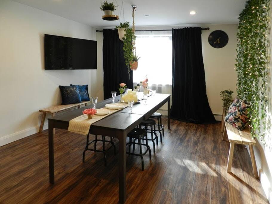 4 Residents | Woodside | Cozy Urban Apt. w/ Workspace