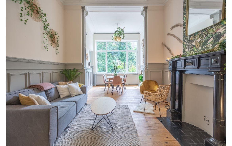 8 Residents | Saint-Gilles - Forest | Spacious Elegant House w/ Backyard Deck