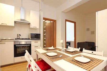 6 Residents   Quartiere XV Della Vittoria   Urban Designed Apt. w/ Workspace + Terrace