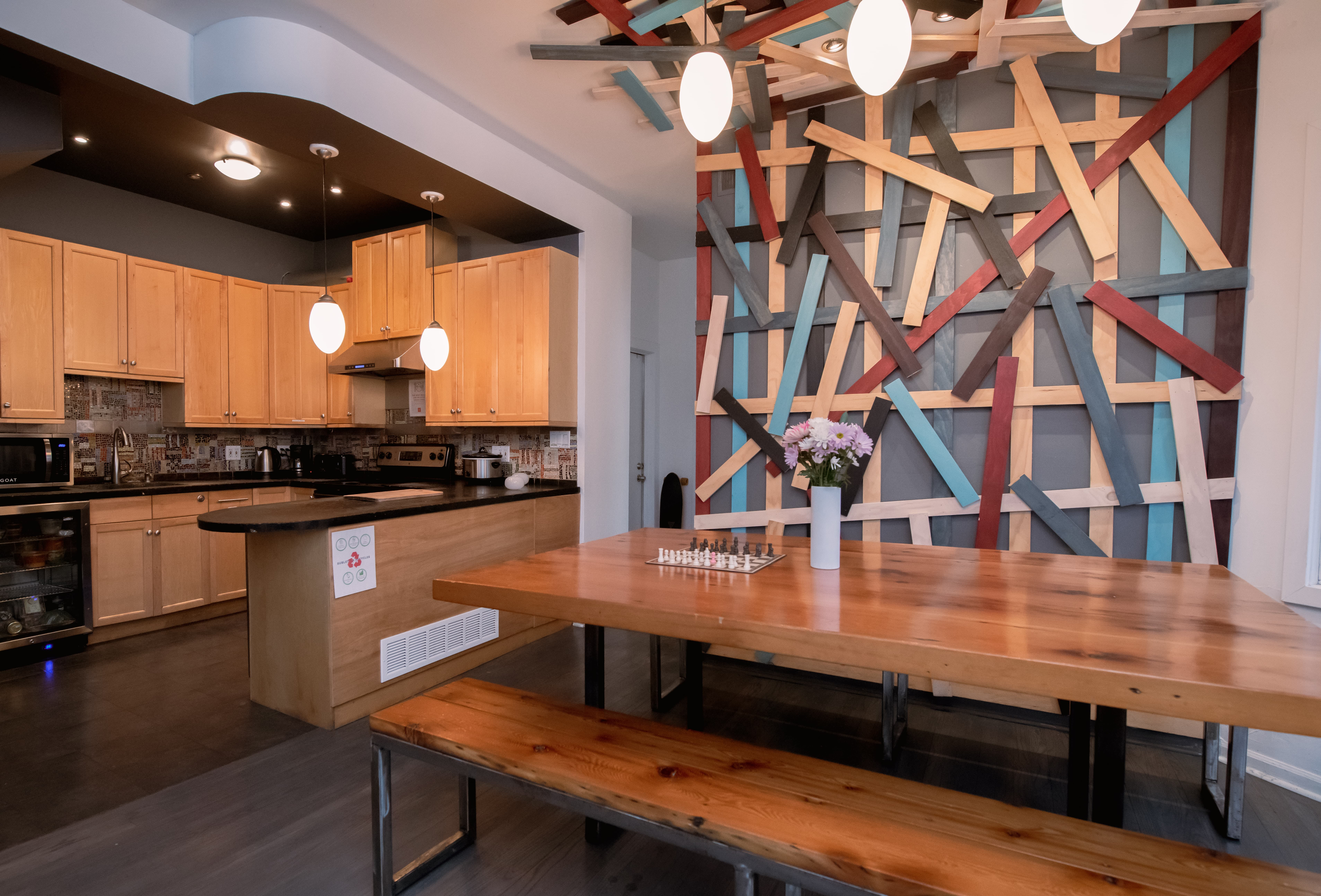 12 Residents   Logan Square   Trendy Style Residence w/ Coworking + Outdoor Area