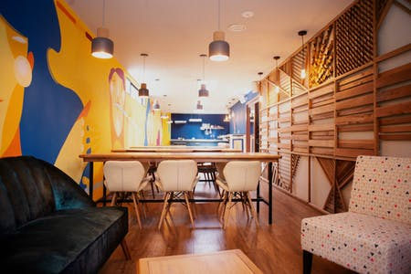 38 Residents   Simon Bolivar   Freshly Renovated Complex w/ Coworking + Movie Room