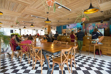 20 Residents   Baños Historical Centre   Vibrant Renovated Building w/ Rooftop Terrace + Coworking