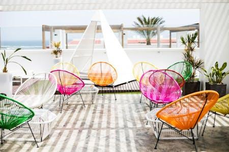 100 Residents | Charco De Bristol | Luxury Beach Complex w/ Coworking + Terrace & Yoga Deck