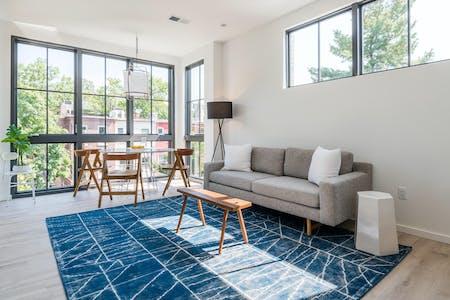 24 Residents   Adams Morgan   Luxury Modern Apt. w/ Workspace + Terrace