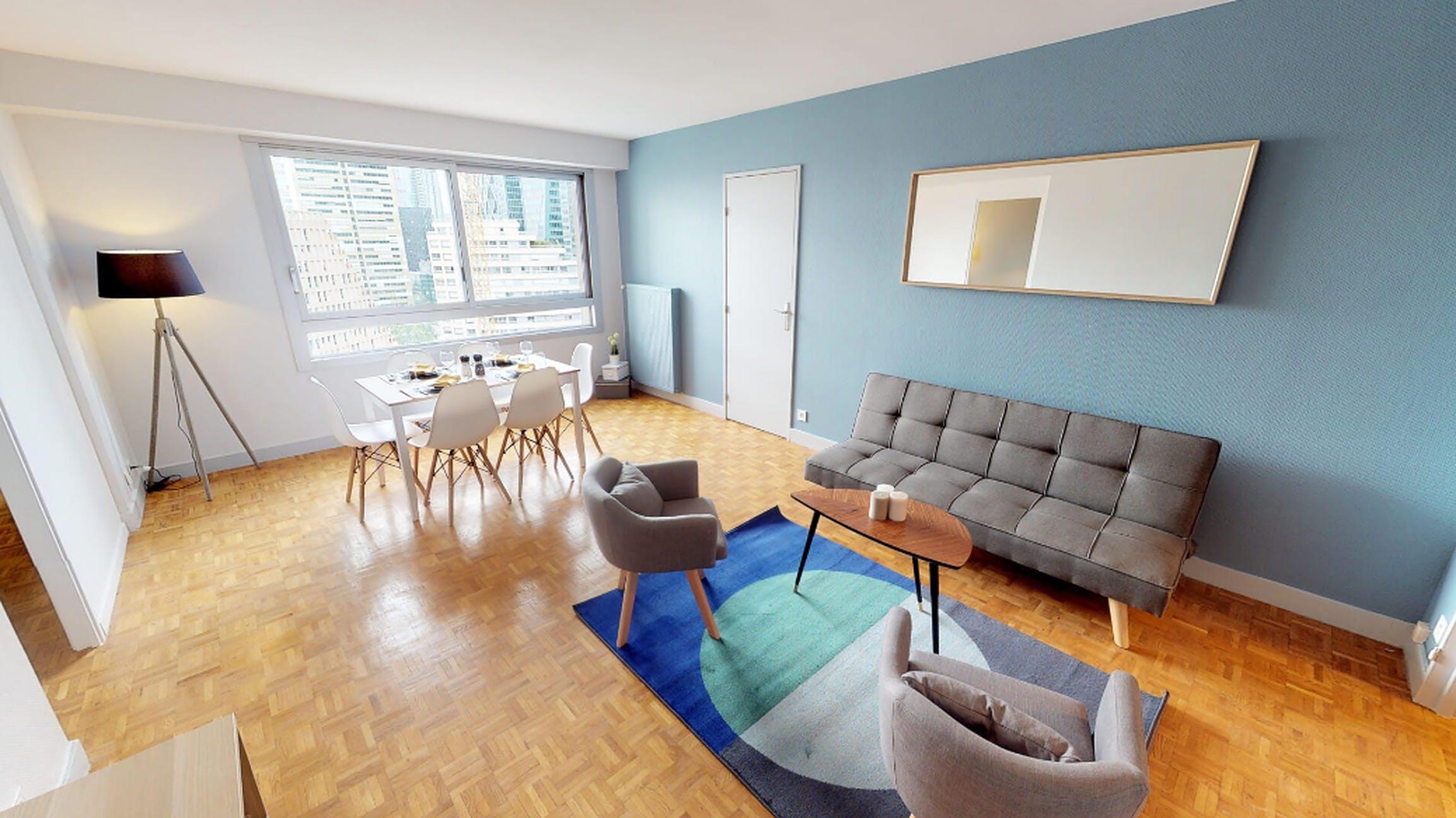 4 Residents | Courbevoie | Stunning Bright Apt.