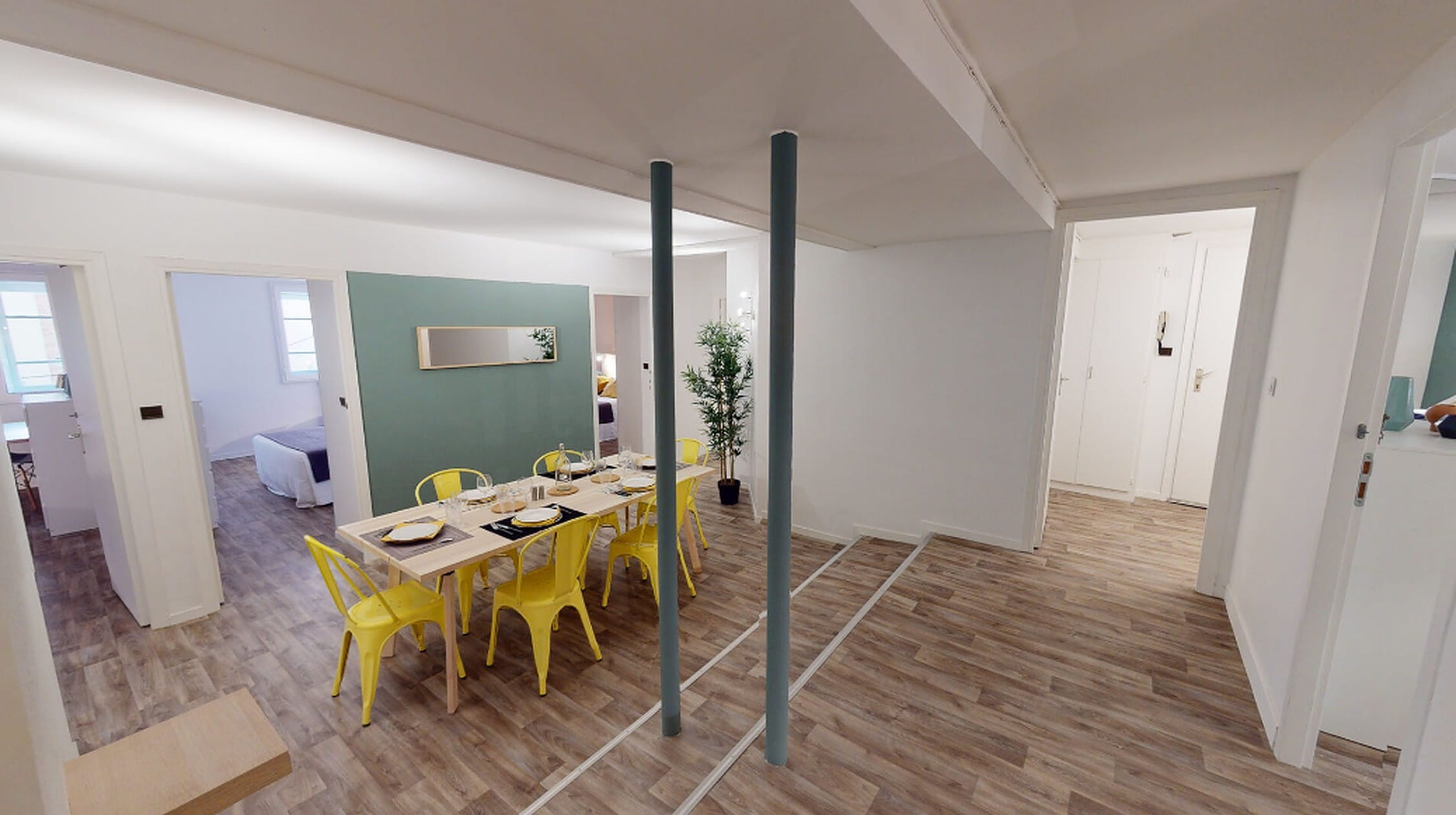 Spacious Luxury Apt. w/ Workspace