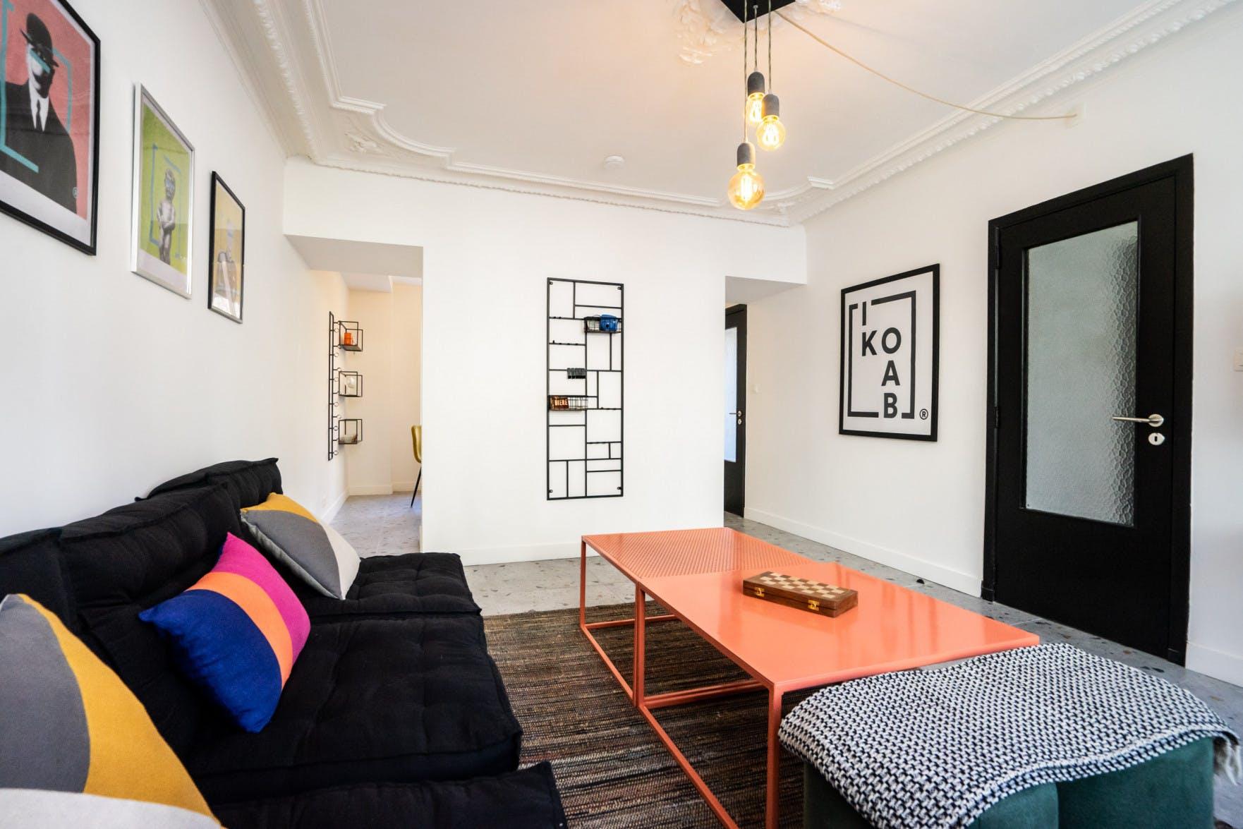 8 Residents | Arlon | Stylish Designed Apt. w/ Terrace + Garden