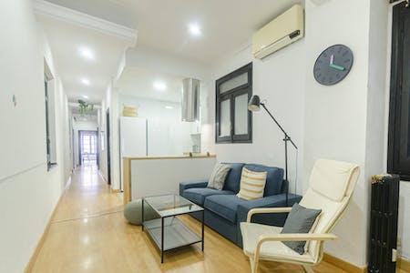 5 Residents   Eixample   Stunning Bright Apt. w/ Terrace